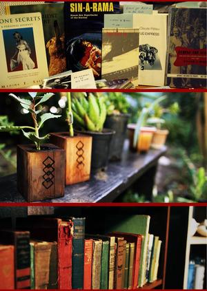 Books! Plants!